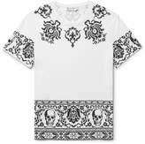 Alexander Mcqueen - Printed Cotton-jersey T-shirt
