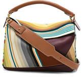 Loewe Striped Puzzle Bag