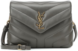 Saint Laurent Loulou Mini leather shoulder bag