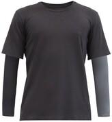 Jacques - Long Sleeved Compression Top - Mens - Black