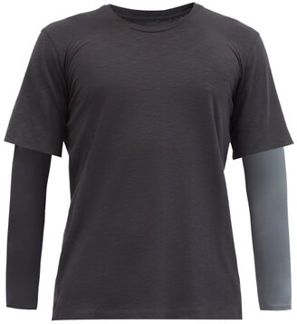 JACQUES Long-sleeved Compression Top - Black