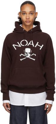 Noah NYC Burgundy Jolly Roger Hoodie