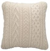 Modloft URBN Ecru Knit Throw Pillow