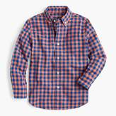J.Crew Kids' oxford shirt in oversized gingham