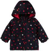 Name It Girls Heart print hooded Jacket