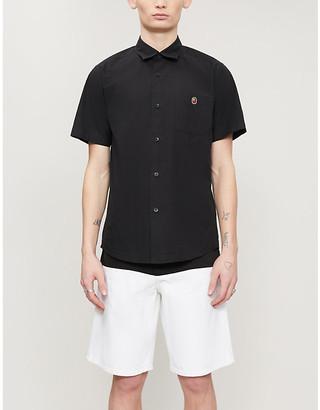 A Bathing Ape One Point cotton short-sleeve shirt