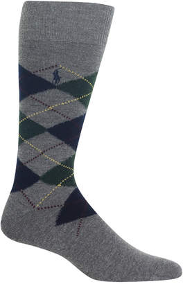 Polo Ralph Lauren Men Wool Argyle Boot Sock