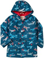 Hatley Fighter Planes Raincoat (Toddler/Kid) - Blue - 3T