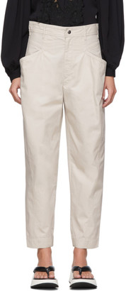 Isabel Marant Off-White Gubaia Trousers