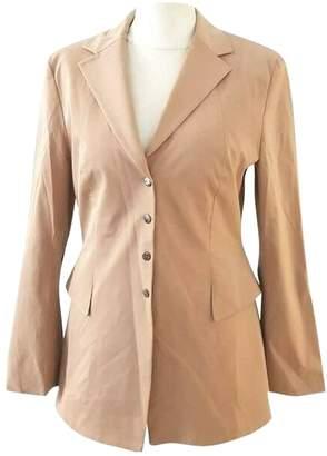 Marc Cain Beige Cotton Jacket for Women