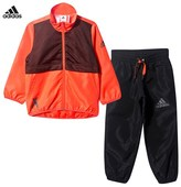 adidas Chaos X Red and Black Tracksuit