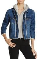 Aqua Zip Out Hoodie Denim Jacket - 100% Exclusive