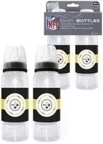 Baby Fanatic Pittsburgh Steelers NFL 2 Pack Baby Bottle
