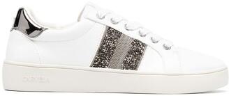 Carvela Luminous glitter low-top sneakers