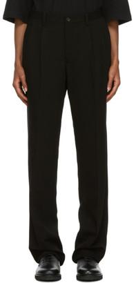 Issey Miyake Black Wool Trousers