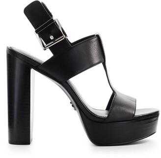 Michael Kors Black Becker Platform Sandal