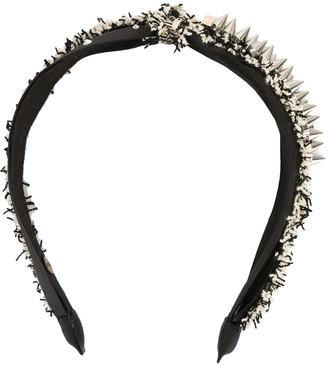 Venna Rock spike-studs headband