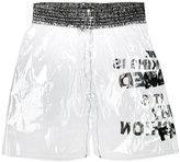 Comme des Garcons transparent shorts - men - PVC - S