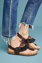 Maliparmi Beaded Circus Slingback Sandals
