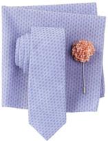 Original Penguin Blyth Solid Tie, Pocket Square, & Lapel Pin 3-Piece Set