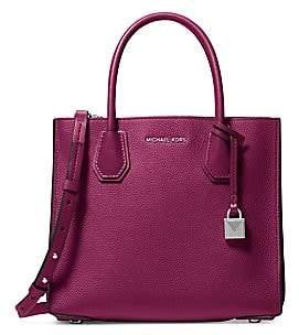 MICHAEL Michael Kors Women's Medium Mercer Accordion Convertible Leather Tote Bag