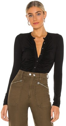 Krisa Ruched Front Cardigan