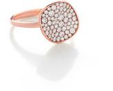 Ippolita 18K Rose Stardust Flower Ring, Size 7