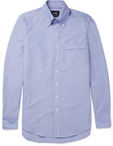 Drakes Drake's Slim-Fit Button-Down Collar Cotton Oxford Shirt