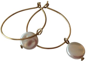 Non Signã© / Unsigned CrAoles Gold Pearls Earrings