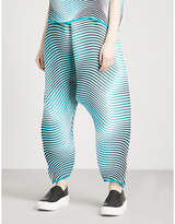 Issey Miyake Flow tapered pleated trousers
