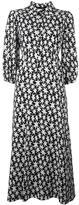 Saint Laurent star print dress - women - Silk/Viscose - 36
