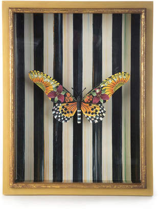 Mackenzie Childs MacKenzie-Childs Monarch Butterfly Shadow Box