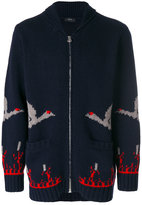 Joseph zip-up sweater - men - Lambs Wool - M