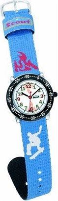 Scout 280378035Children's Analog Quartz Watch with Blue Strap