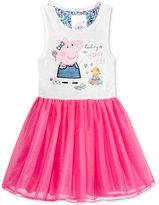 Nickelodeon Nickelodeon's Peppa Pig Graphic-Print Tutu Dress, Little Girls (4-6X)