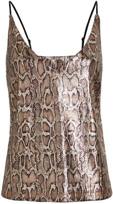 L'Agence Gabriella Sequined Camisole