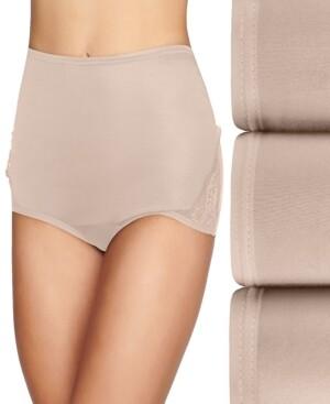 Vanity Fair Women's 3-Pk. Lace Nouveau Brief Underwear #13011