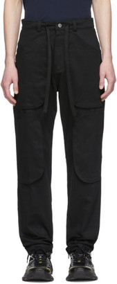 Nahmias SSENSE Exclusive Black Workman Cargo Pants