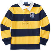 Ralph Lauren Striped Cotton Jersey Rugby