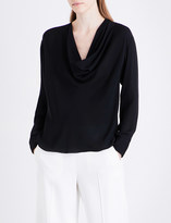 Emilio Pucci Scoop-neck silk top