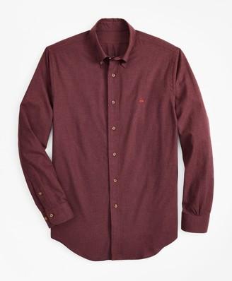Brooks Brothers Regent Fit Brushed Flannel Sport Shirt