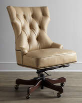 Hooker Furniture Solomon Leather Office Chair