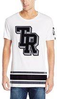 True Religion Men's Short Sleeve 02 Varsity Tee