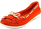 Chinese Laundry Chase Me Moc Toe Suede Boat Shoe.