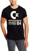 Logoshirt Men's Commodore C64 Casual Shirt,XX-Large