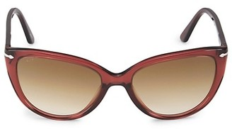 Persol 55MM Cat Eye Sunglasses