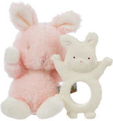 Bunnies by the Bay NEW Bunny Teether & Wittle Set 2pce
