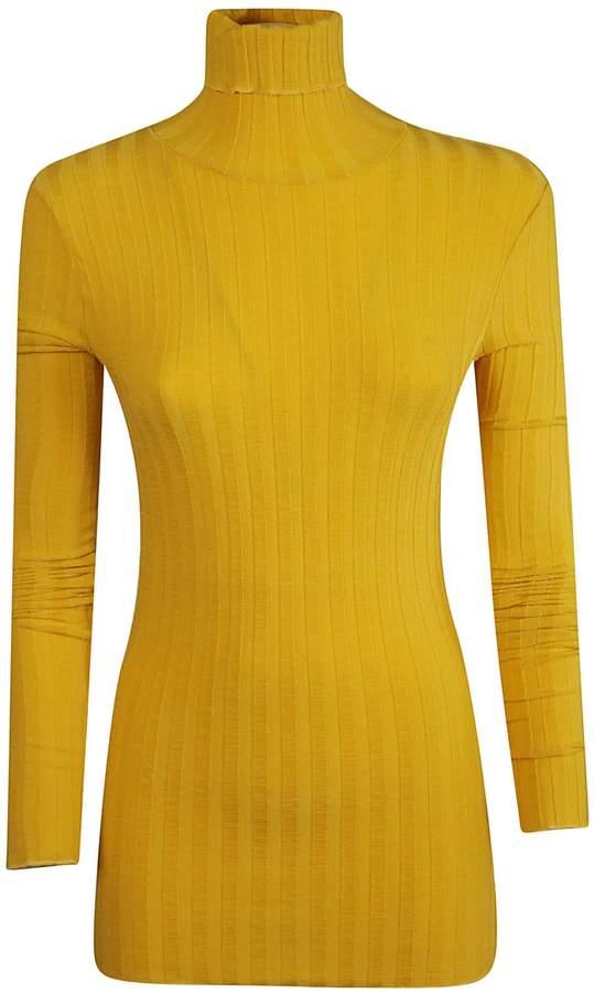 ce27dba86e2c05 Mustard Knit Sweater - ShopStyle