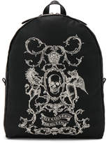 Alexander McQueen Printed Backpack