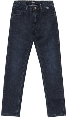 Il Gufo Stretch-denim slim jeans